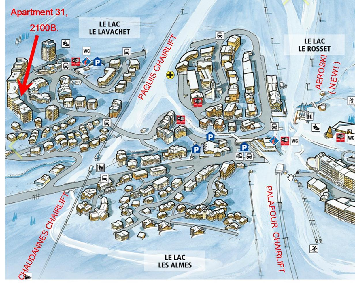 The TCC Info about selfcatered apartment Tignes Apartment 31