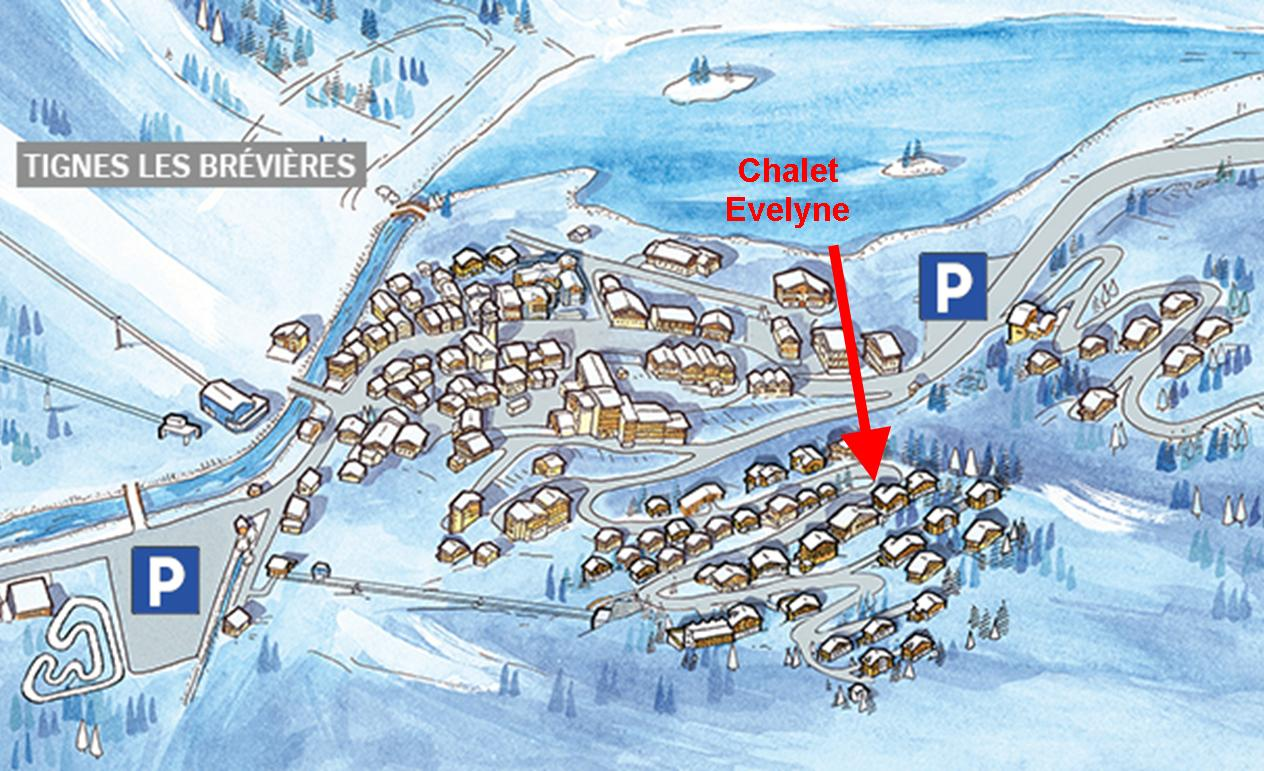 The TCC Info about selfcatered apartment Tignes Evelyne