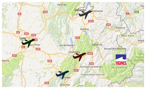 Transport geneva airport to tignes webcam